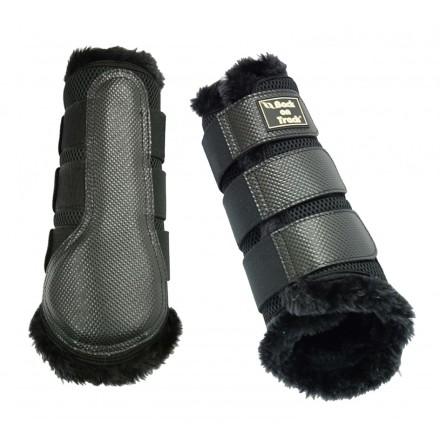 Back On Track Brush boot 3D mesh fur/par