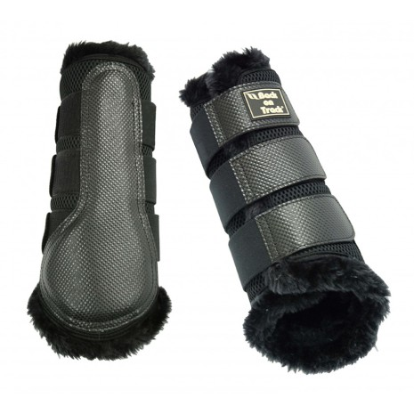 Back On Track Brush boot 3D mesh fur/par