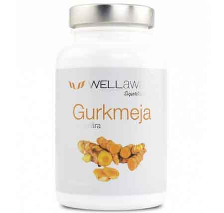 Gurkmeja / Ingefära kapslar 90 st 500 mg